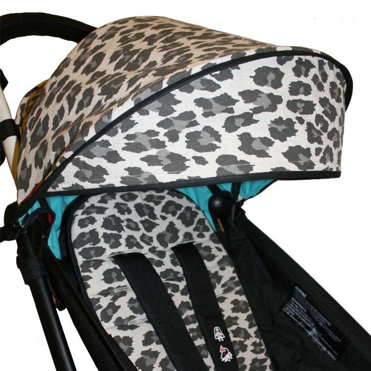Leopardsufflett till babyzen Yoyo. passar alla årsmodeller