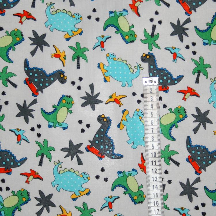 Tyg Grå Dinosaurier Solskydd barnvagn