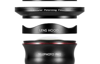 TELEPHOTO PRO SERIES 60MM (V2) + CPL + PHONE CASE