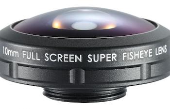FISHEYE LENS STANDARD SERIES 10MM + PHONE CASE