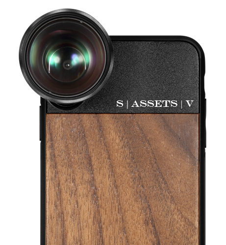 FISHEYE LENS (PRO SERIES V1) + PHONE CASE