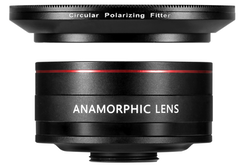 ANAMORPHIC LENS (1.33) + CPL FILTER - PRO SERIES V2
