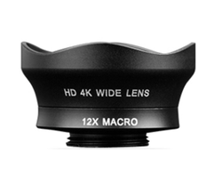 WIDE ANGLE LENS (16MM) + 12x MACRO - STANDARD SERIES