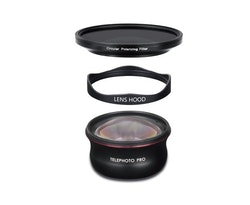 TELEPHOTO LENS (60MM) - PRO SERIES + CPL FILTER (V2)
