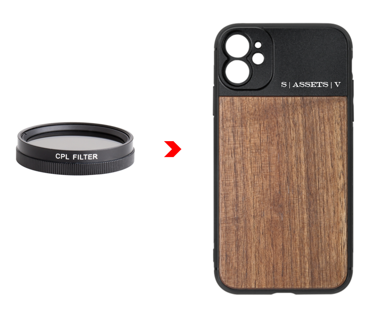 CPL FILTER + PHONE CASE