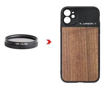 CPL FILTER + PHONE CASE