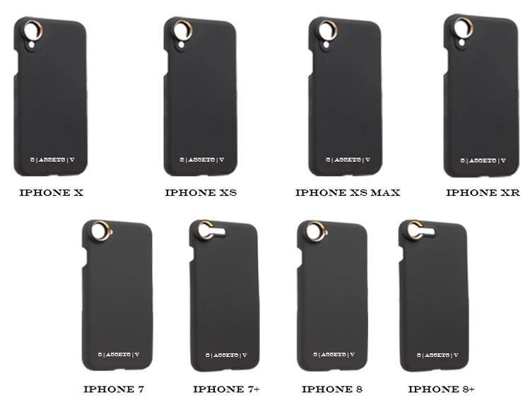 PHONE CASE - BLACK TRIM (V1)