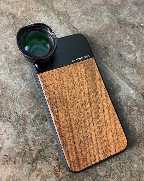 TELEPHOTO LENS (PRO SERIES V1) + PHONE CASE