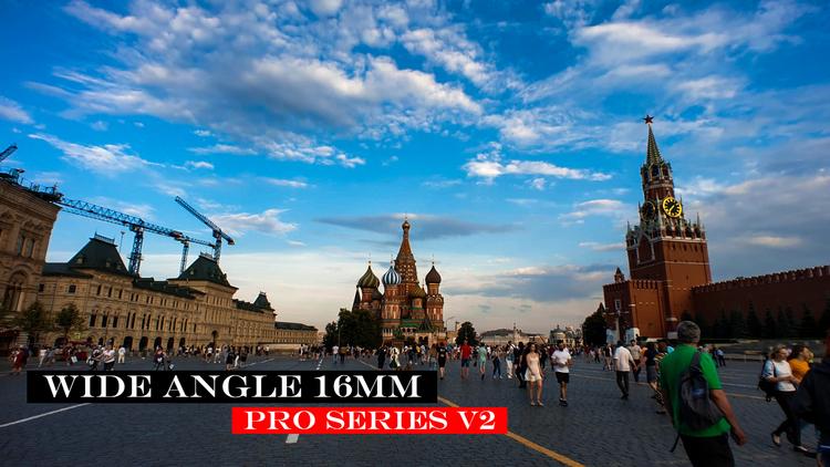 WIDE ANGLE LENS (16MM) - PRO SERIES + CPL FILTER (V2)