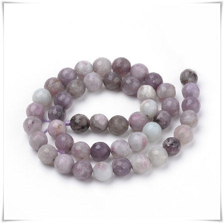 Violet stone 6 mm