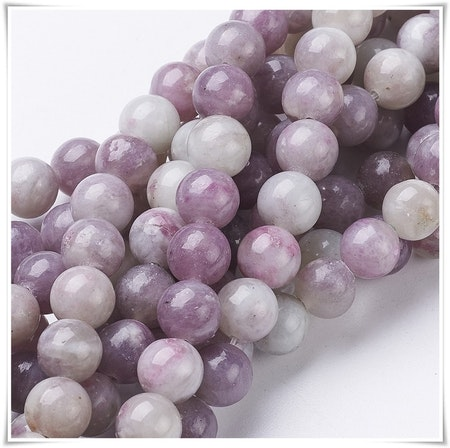 Violet stone 8 mm