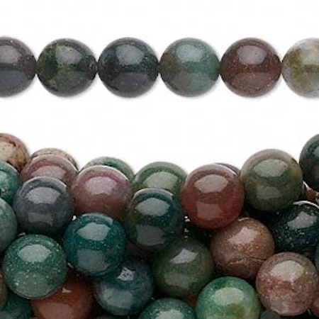 Fancy jasper 8 mm rund