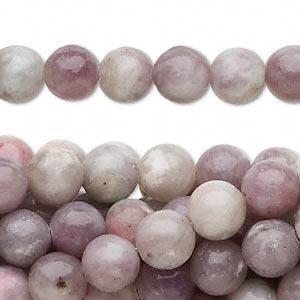 Lavendelsten (kvarts) 8 mm rund
