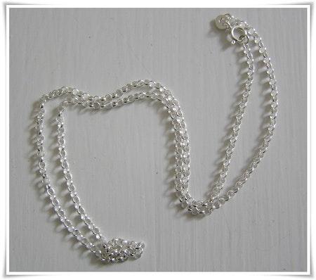 Ärtlänk sterling silver 45 cm