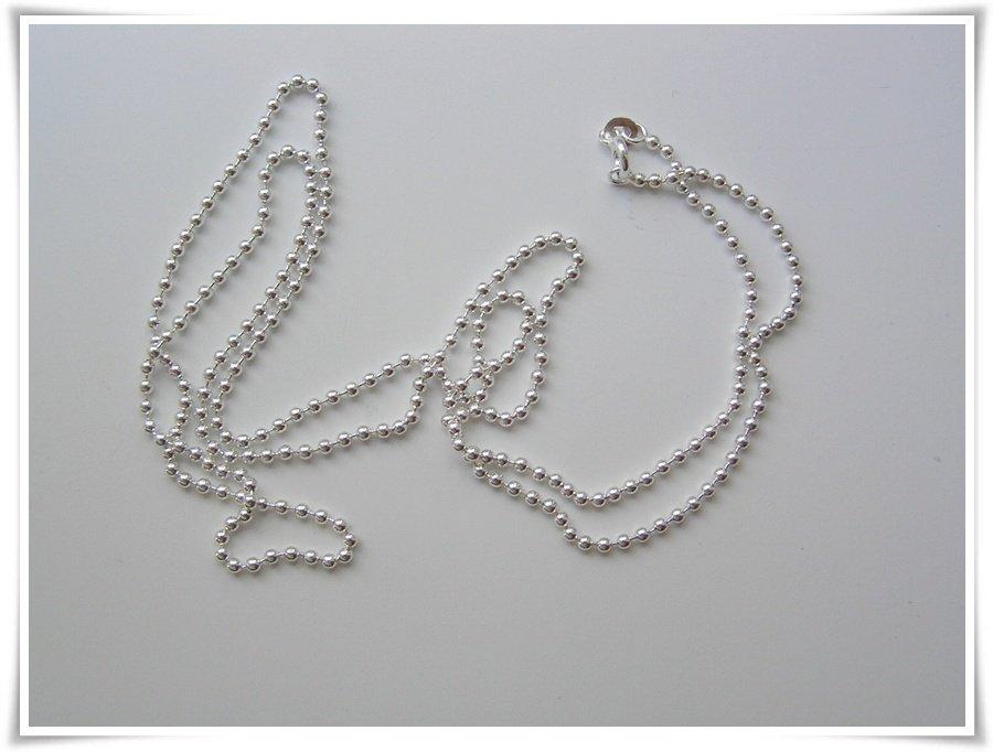 Kulkedja sterling silver 90 cm