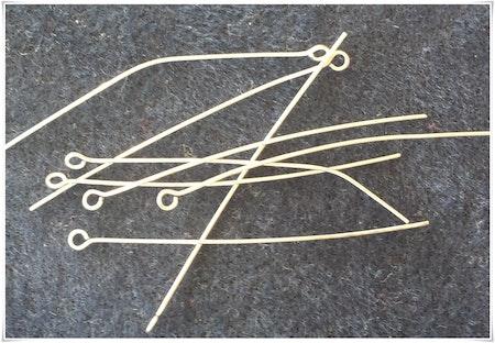 Öglepinnar 0,6 mm 10-pack