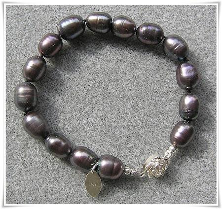 Armband med sötvattenspärlor (005)