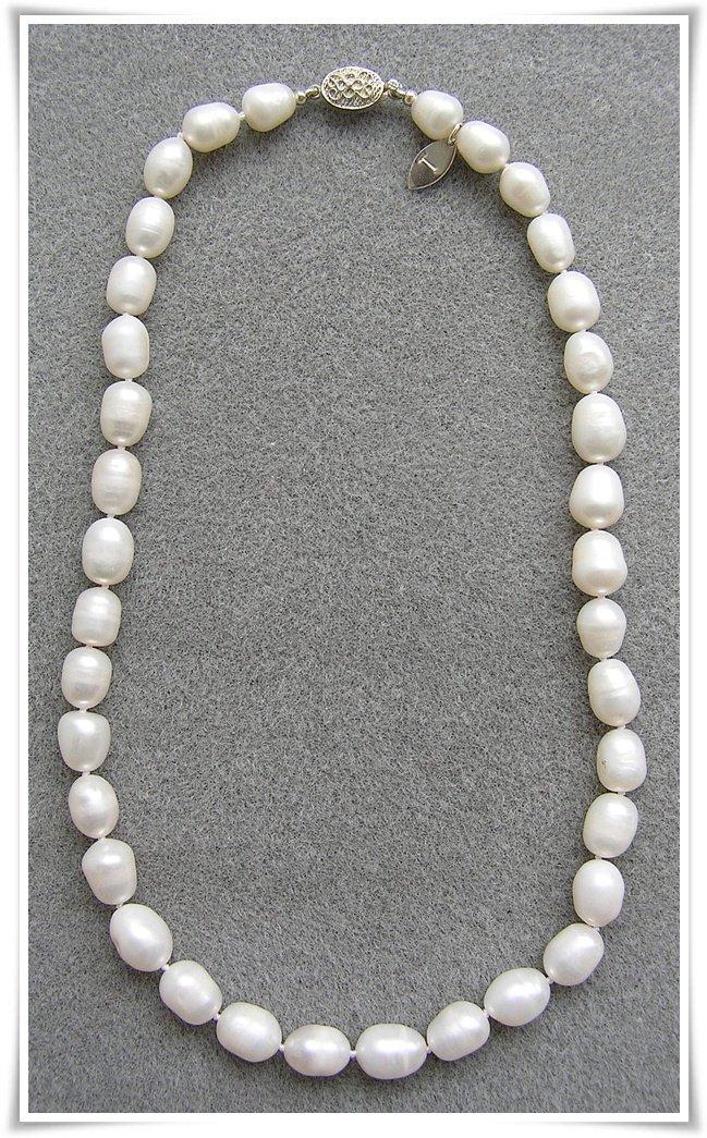 Halsband med sötvattenspärlor (041)