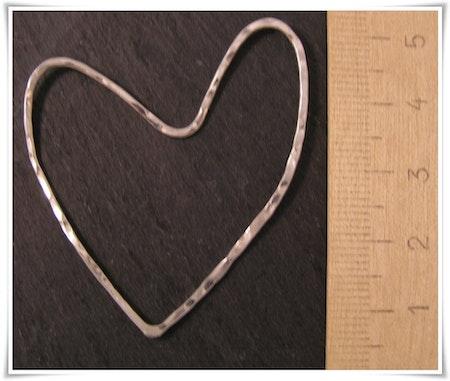 Hjärta i sterling silver (238)