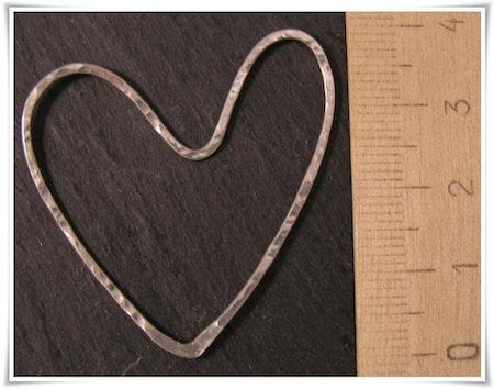 Hjärta i sterling silver (245)