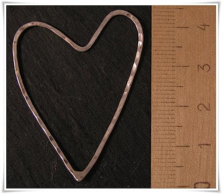 Hjärta i sterling silver (251)