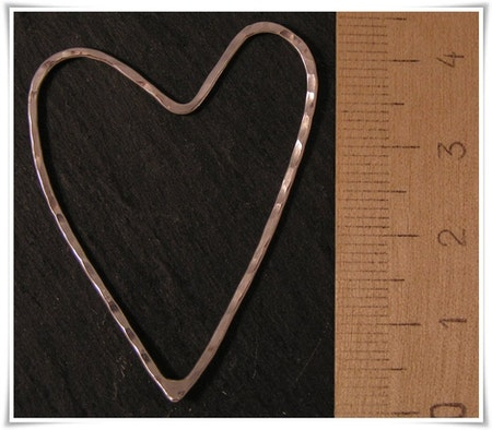 Hjärta i sterling silver (247)