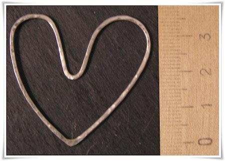 Hjärta i sterling silver (252)