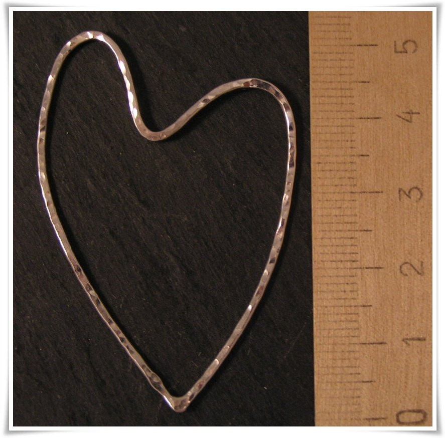 Hjärta i sterling silver (258)