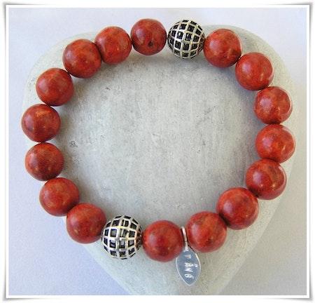 Armband med skumkorall (330)