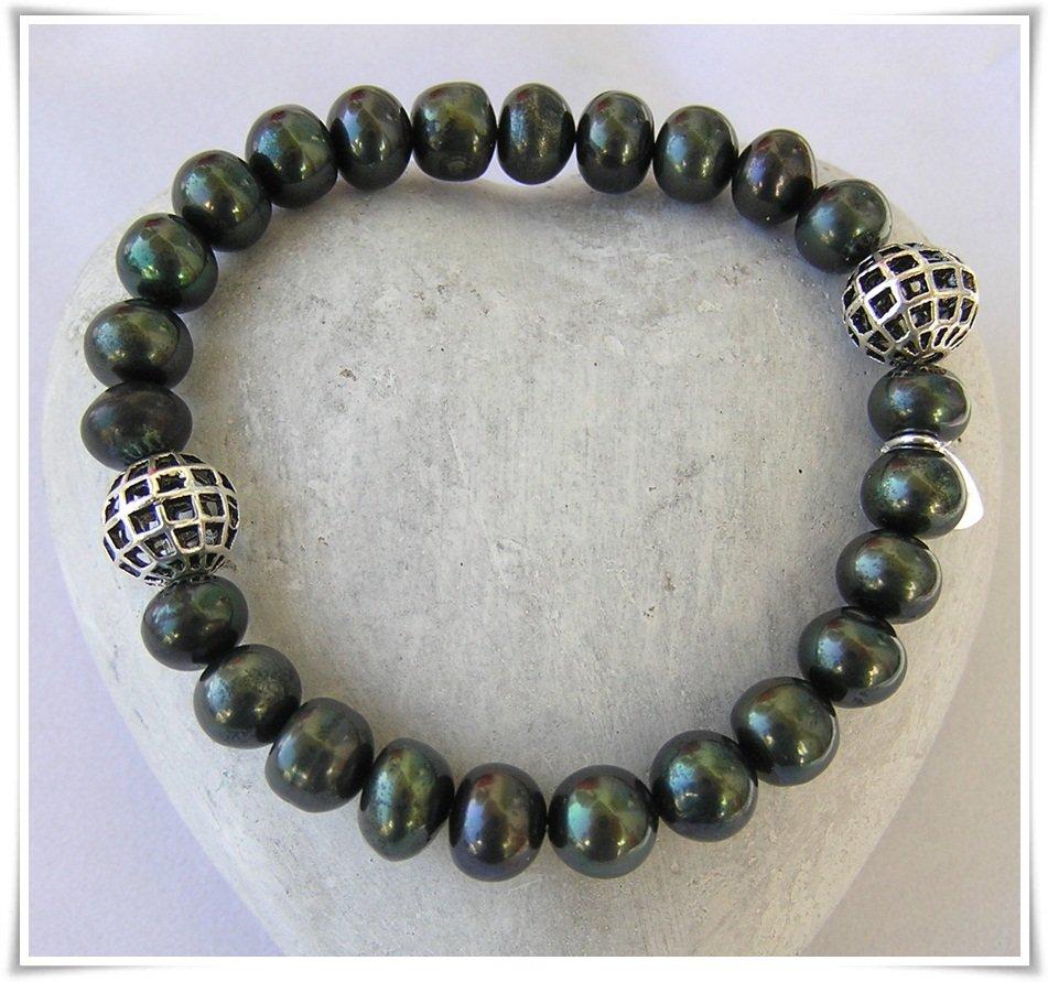 Armband med sötvattenspärlor (331)