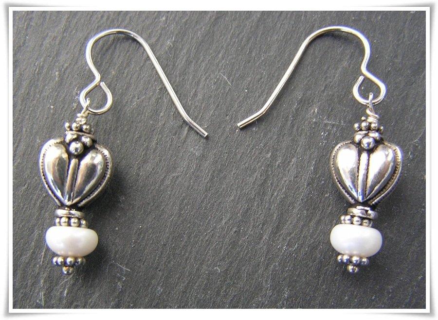 Örhänge sterling silver med sötvattenspärlor (367) - Lariat 2d91dc0d1a597