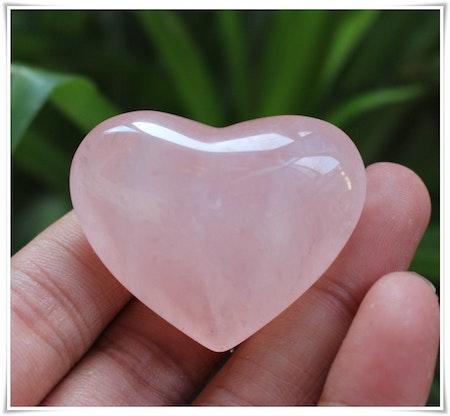 Hjärta rosenkvarts
