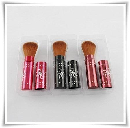 Make up borste (hopfällbar)