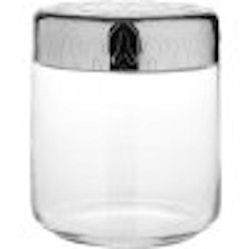 Glasburk med lock från Alessi. 75 CL