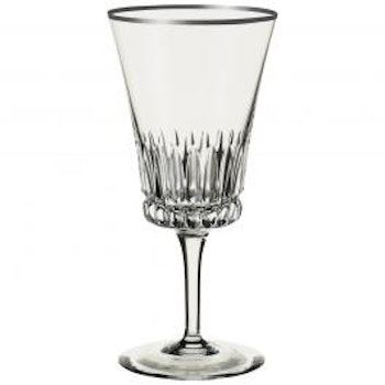Grand Royal White Gold Water goblet 200mm. 4/set