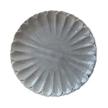 Tallrik Provance, Ø27 cm, concrete. 6 pieces. Finns i flera färger, se färgkarta