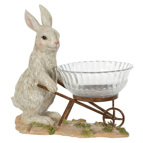 Hare/Skål 30x17cm 2st