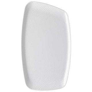 Junto White Platter 36 x 21 cm