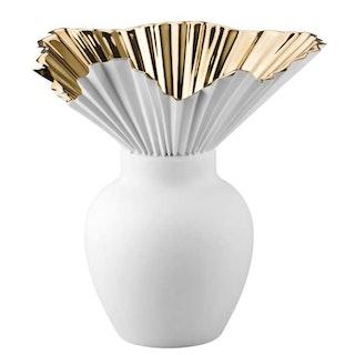VAS-Falda Gold titanisiert Vase 27 cm