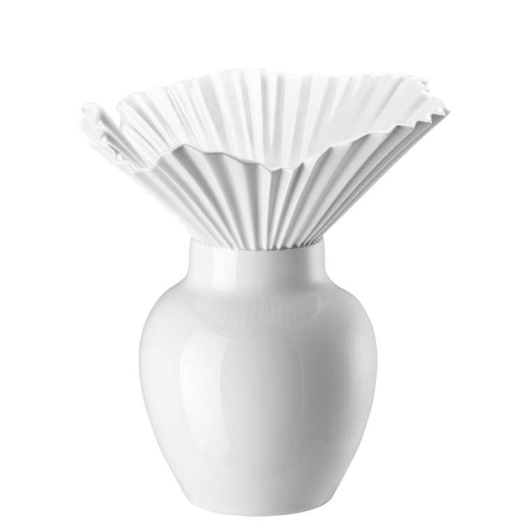 VAS-Falda White Vase 27 cm