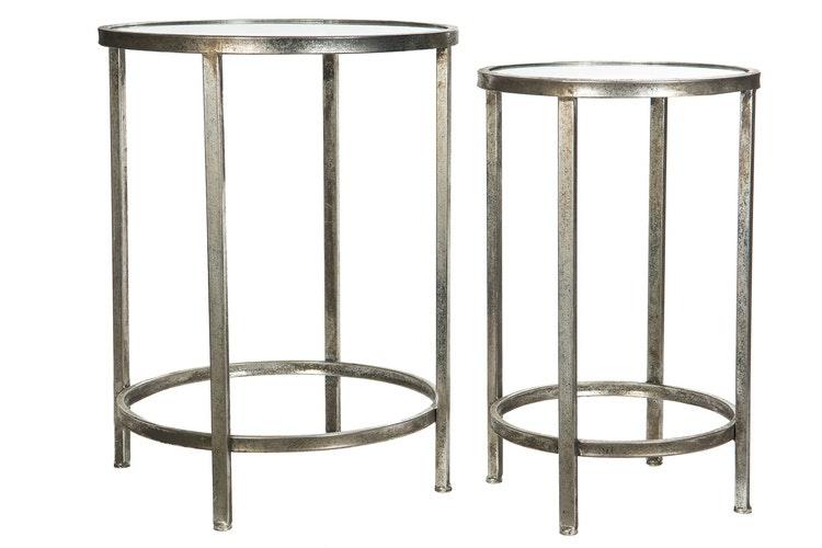 Bord-Glas Silver 46x60cm  1set