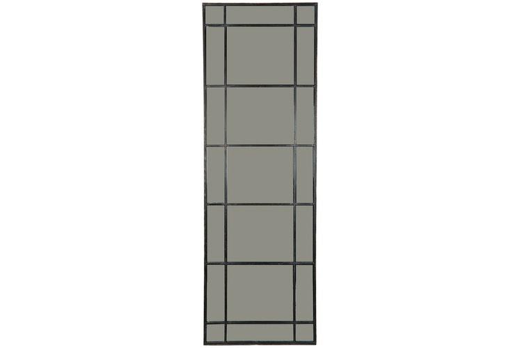 Spegel Hera Black 51x153cm