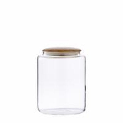 CRISTELLA JAR H15 CM. CLEAR. 6 st