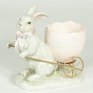 Kanin- med äggvagn. 4 st