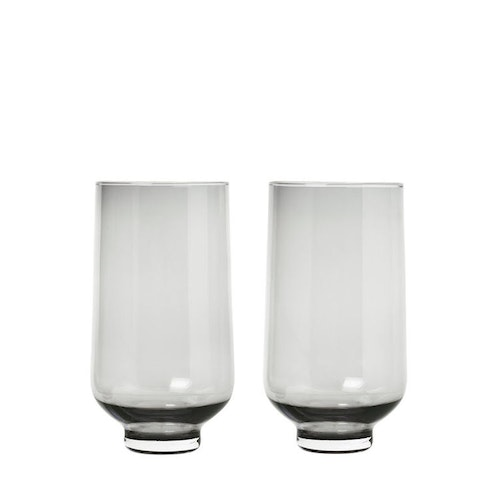 Set/2 höga tumblerglas