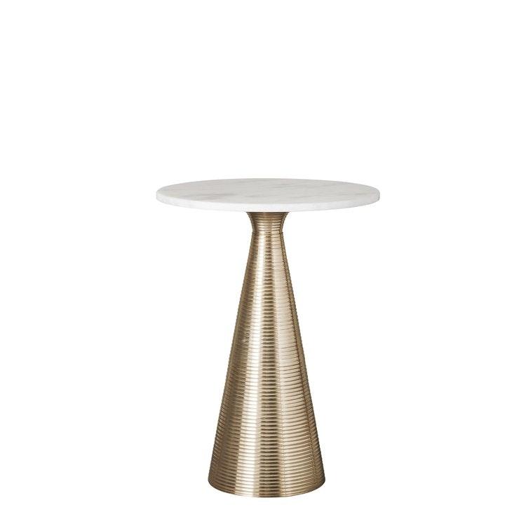 SIDE TABLE L40XW40XH54 CM. WHITE