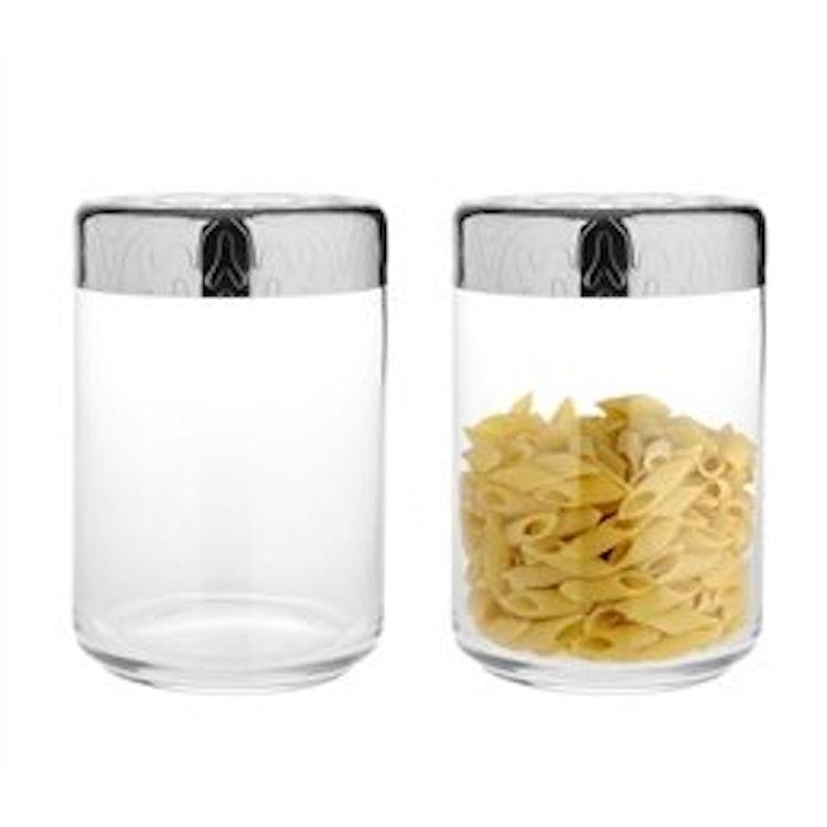 Glasburk med lock från Alessi. 100 CL