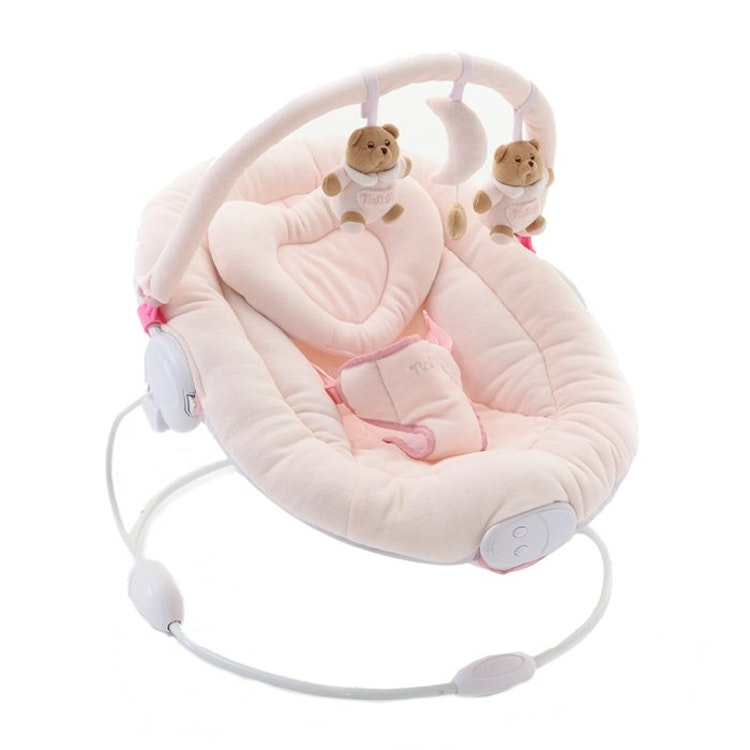 Baby Bouncer. 2 Color/färger. Pink-White