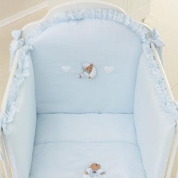 Bed Duvet Set in 4 pieces. 2 COLOR
