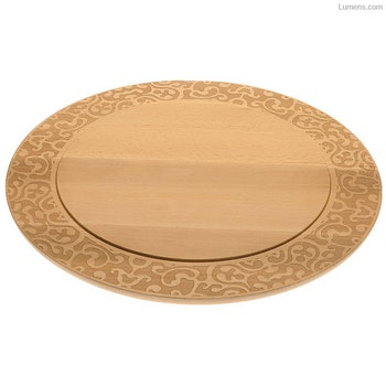 Centrepiece Dressed in wood and Lid Dressed in wood
